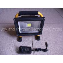 Portable Rechargeable LED Flood 20W Light with 3-Step Dimmer (JP-B83720COB)