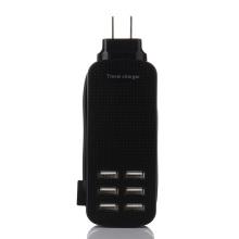 5.1V6A Sockel Wandladegerät 6USB für Mobiltelefon