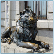 High Quality Life Size BronzeGarden Lion Statues For Sale