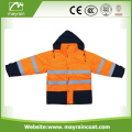 Reflective Workwear Cheap Warm Orange Safety Jacket