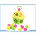 Puzzle Blocks Toys Hexagon House Intellectual Toys