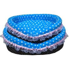 Funny Round Shape Plush Pet Dog Sofa Bed