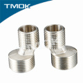 brass Y pattern nickel plating pipe joint