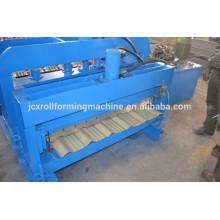 Nigeria Typ gewölbte Dachbleche gerollte Form Machinery für Metall Dachdecker Fliesen Maschine