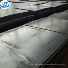 Q235 q345 a106b laminé à froid tôle d'acier feuille prix usine