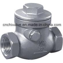 H14 Нержавеющая сталь Внутренний резьбовой обратный клапан