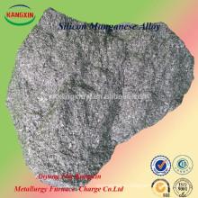 Aleación / simn del manganeso del silicio de la fuente de China como desoxidante y desulfurizador para la fabricación de acero / bastidor / fundición