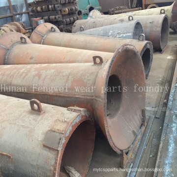 High Manganese Sand Suction Tube for Sand-Excavating Ship
