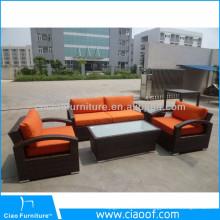 Meubles de sofa de Pricerattan d'usine, sofa de salle d'attente de salon