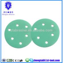 Discos abrasivos de lixamento de filme de poliéster de 7 polegadas