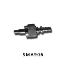 SMA 906 con conector de fibra óptica de metal