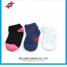 Baumwolljacqard Kleid Socken