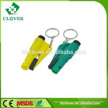 Material plástico de seguridad de supervivencia multifuncional silbato