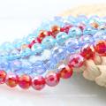 A5003 # -3 AB Color 96 Cristal facetado Chunky Disco Ball Accesorios Crystal Cabochons Beads
