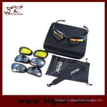 Тактические Дейзи C5 ветрозащитный очки Airsoft очки велосипедные очки страйкбол изумленный взгляд