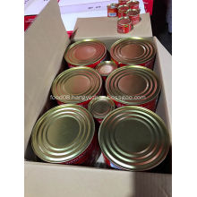calories in canned tomato paste 2200g