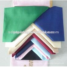 Algodón polivinílico tejido T / C llano gris / teñido / tela impresa para la ropa / el alineamiento / la materia textil casera