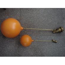 válvula de flutuador de esfera de latão