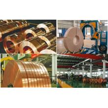 Bobine en cuivre rouge ou en laiton, bande de laiton en plomb ASTM, JIS, ISO, BS, DIN