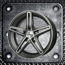 Staggered Alloy Wheels in different ET