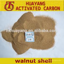 Coque noyer abrasif 60mesh noix coquille poudre pour polissage