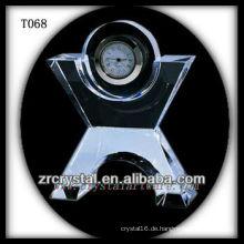 Wunderbare K9 Kristalluhr T068