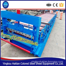 metal sheet roofing cold roll forming equipment/metal sheet roll machine line