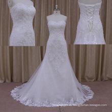 Vestido nupcial Lo0178 del vestido de boda atractivo del tren de Chaple 2015