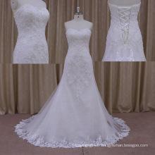 2015 Sexy Chaple Train robe de mariée robe de mariée Lo0178