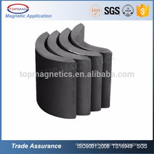 14 Years Experience! Custom ferrite arc magnet for ceiling fan bldc motor