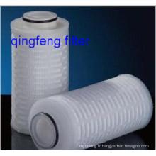 Filtration sur cartouche filtrante de 10 pouces Pes
