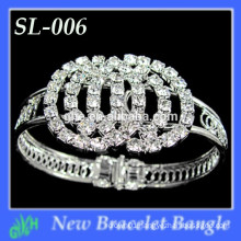 Wholesale New indian fashion bangles,metal silver bracelet