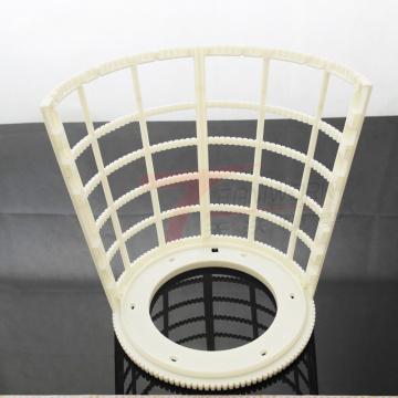 Kundenspezifischer CNC-Bearbeitungs-Rapid-Prototyp-Service für Kunststoffprodukte
