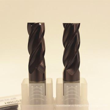 Площадь hrc55 полная конструкция Tang торцевой фрезы карбида для стали