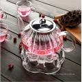 650ml Neue Design Nampkin Hitzebeständigkeit Glas Teekanne