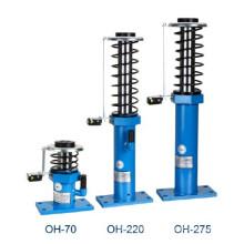 Tampón del aceite del elevador, componentes de la seguridad del elevador Tampón hidráulico,