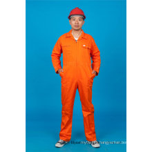 Spring/Summer 65% Polyester 35%Cotton Safety Uniform Coverall Workwear (BLY1014)