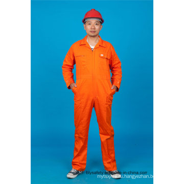 Дешевые 65% полиэстер 35%хлопок безопасности в целом используемая одежда (BLY1022)