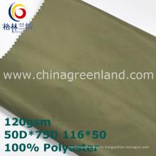 100%памяти полиэфира Саржевого ткани для куртки (GLLML351)