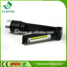ABS e liga de alumínio material mais poderoso levou lanterna