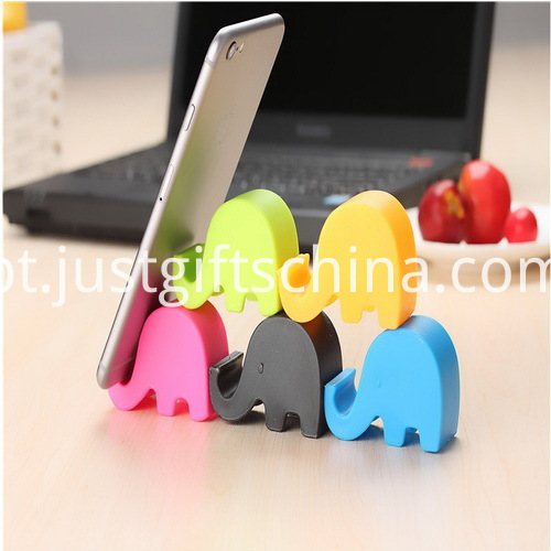 Promotional Cartoon Elephant Mobile Phone Stand _4