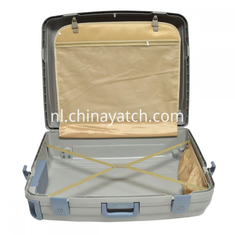 PP Material Luggage case with good lining