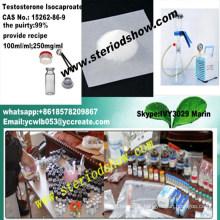 No de CAS d'Isocaproate stéroïde de testostérone d'Anabloin: 15262-86-9 brûlant de graisse de bodybuilding