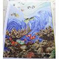Мозаичная роспись, Художественная мозаика для бассейна (HMP785)