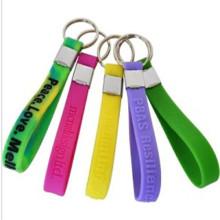 Custom-Made Eco-Friendly Soft PVC Key Rings