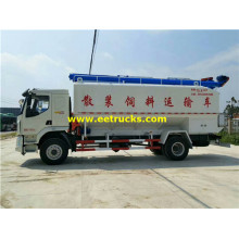 Dongfeng 15800L Dry Powder Delivery Tankers