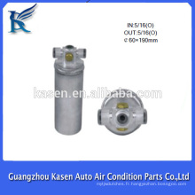 Séchoirs / filtres de séchage / filtre pour séchoir / sécheur en aluminium r134a