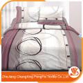 100% полиэстер различных видов печати ткань для постельного лист