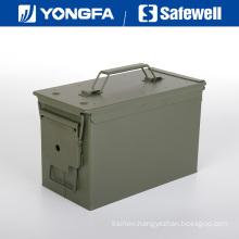 . 50 Cal Metal Bullet Box Ammo Box for Gun Safe
