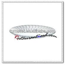 Placa de vidrio redonda D209